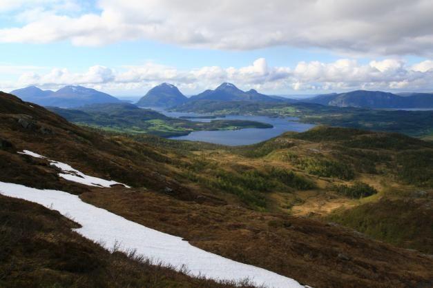 Keski-Skandinavian vaellusreitit - Harri Ahonen - #kirja #keskiskandinavia #vaellusreitit #valetaminen #skandinavia