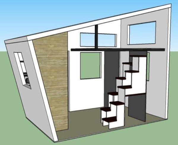 house - 8x12 Tiny House On Wheels Plans