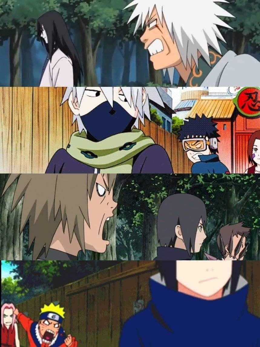 Same energy em 2020 Naruto fofo, Anime meme, Memes de