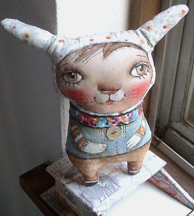 Original Art doll... Bunny...