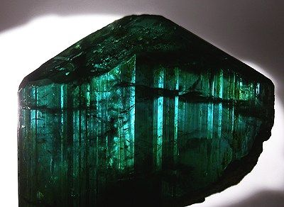 Tourmaline from Maine. I would LOVE to go mining for this!