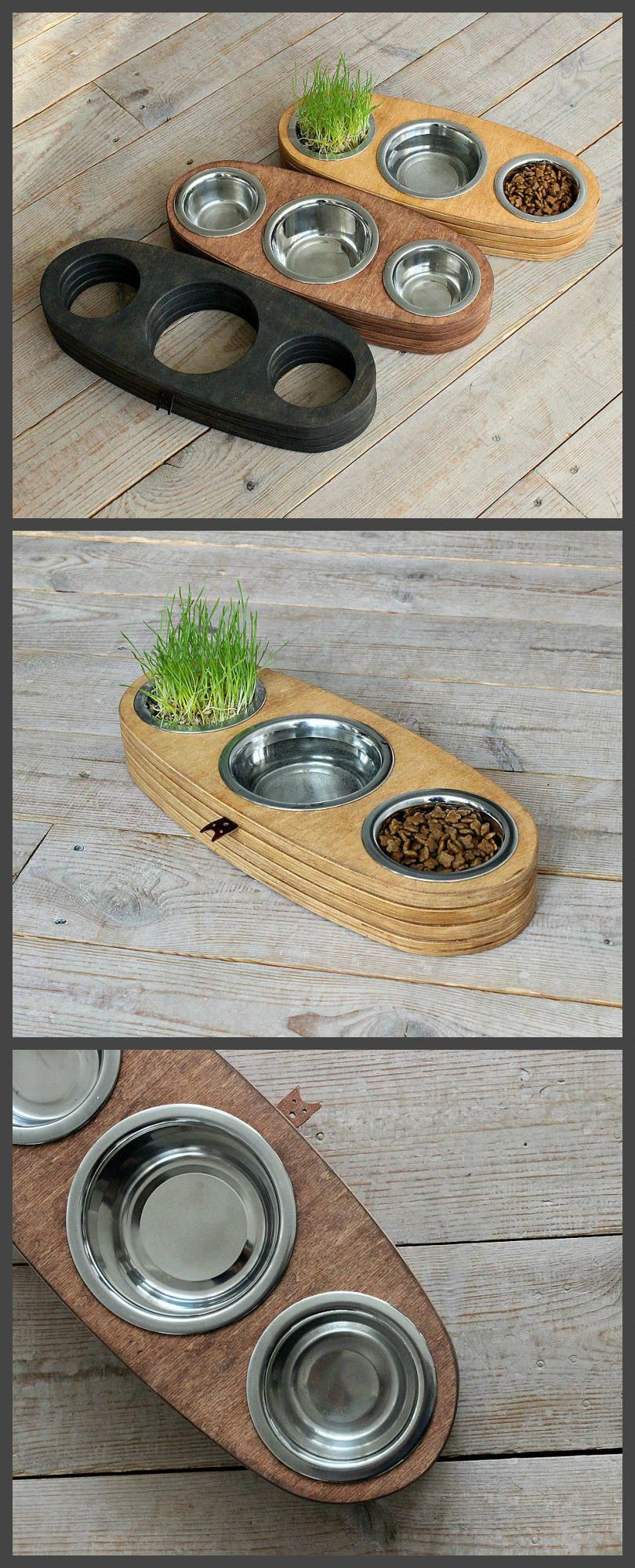 Pin on Cool cat food bowls and feeders