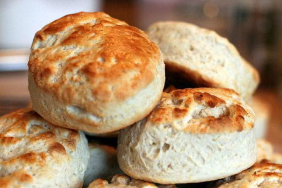 15 easy biscuit recipes - Carrot dill biscuits with cream cheese butter - CSMonitor.com