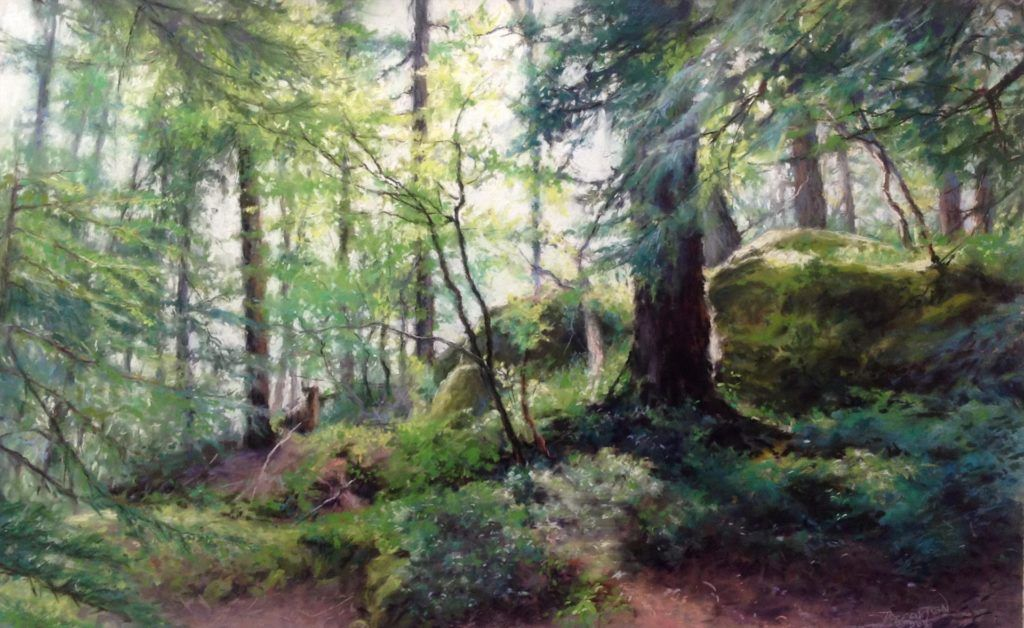 June/July Landscape artist, Fine art landscape