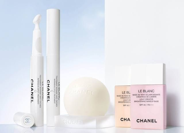 Chanel Le Blanc Skincare 2016 Collection Beauty Trends And Latest Makeup Collections Chic Profile Chanel Cosmetics Makeup Base Makeup Skin Care