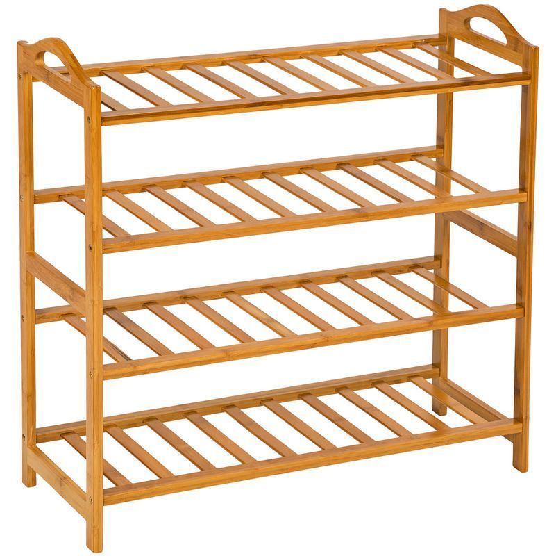 Meuble A Chaussures Tequila Avec 4 Abattants Style Mexicain Armoire A Chaussures En Pin Massif Finition Ciree Idimex Meubleachaussuresentree Meuble A Chauss Wooden Shoe Racks Entryway Shoe Bamboo Shoe Rack