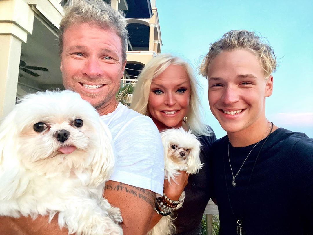 122 Likes 15 Comments Leighanne Leighanne Littrell On Instagram The First Half Of Our Vacation So Far I Backstreet Boys Brian Littrell My Boys