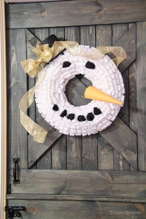 Snowman Winter Wreath Tutorial-32