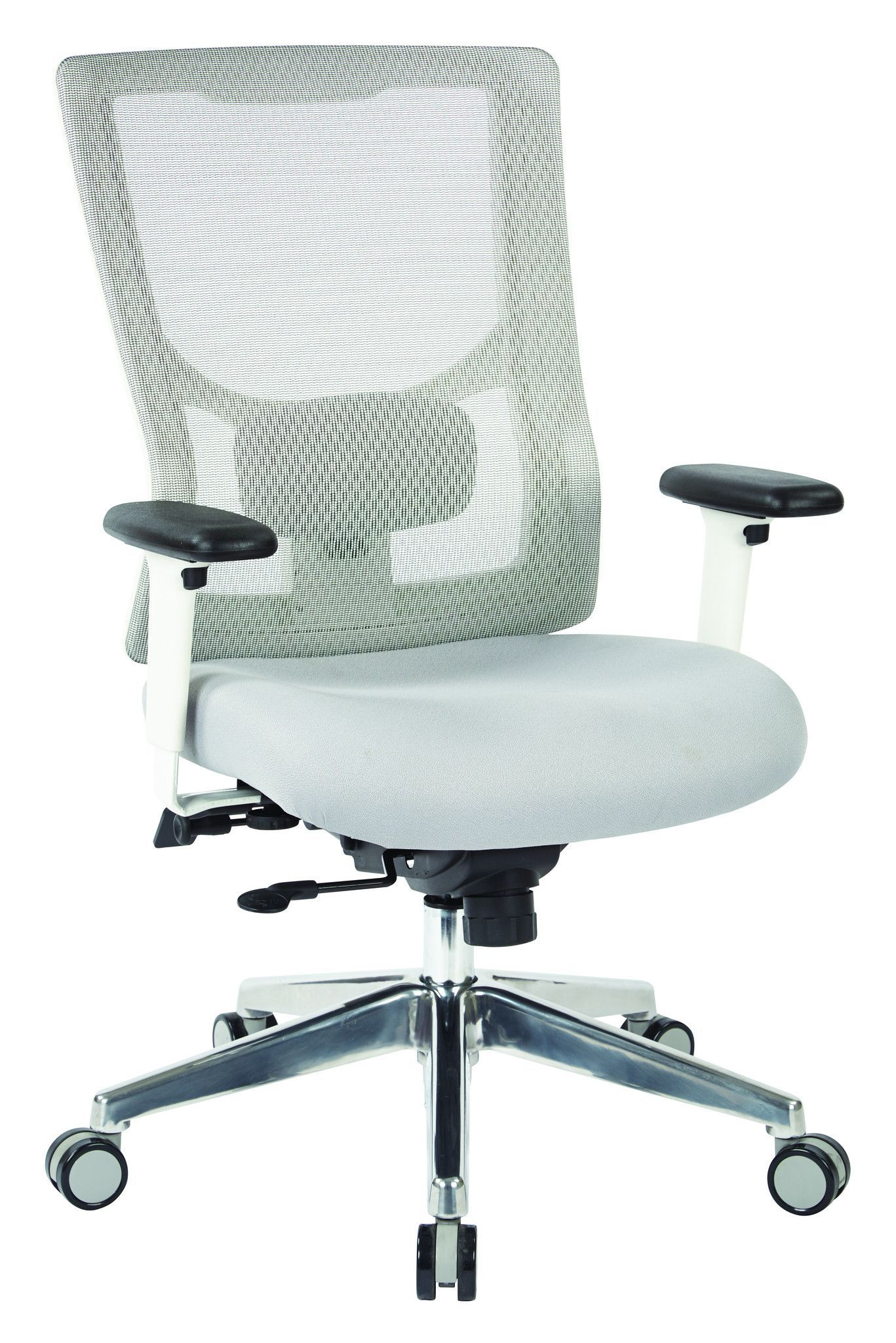 ProLine II™ ProGrid® White Mesh High Back Chair with 2
