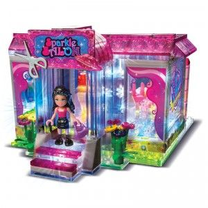 Lite Brix Lite Up Sparkle Salon from Cra-Z-Art   Salons, Legos and Lego