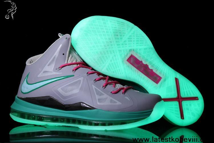 37fc09493c3 Low Price Nike Lebron X (10) MVP in South Beach Glow in the Dark Shoes Store