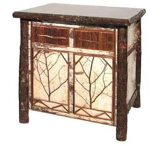 Birch Bark And Hickory Furniture And Accessories!
