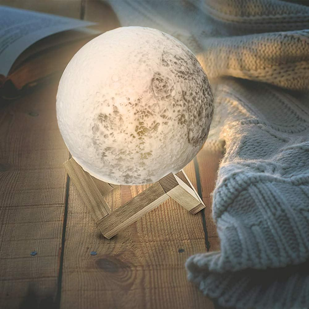 3d Moon Lamp 40 Off Night Light 3d Night Light Beautiful Lamp
