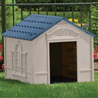 Deluxe Personalized Large Dog House Suncast Httpamazondp