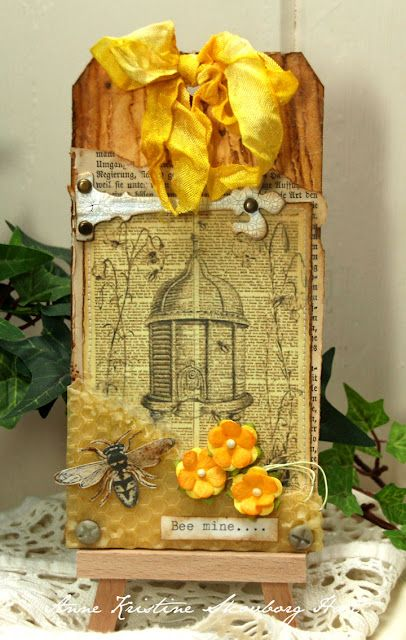 Anne's paper fun: Bee mine... This is something my Mom would love!!!!