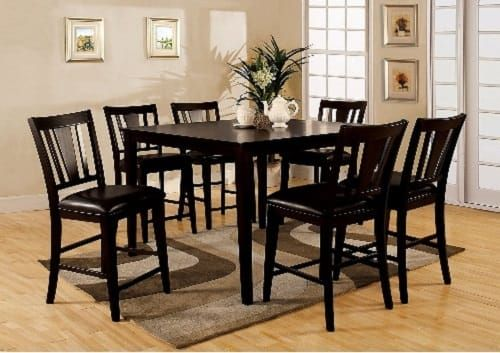 First Class 7 Piece Counter Height Dining Room Sets On Amazon Pictures Gallery