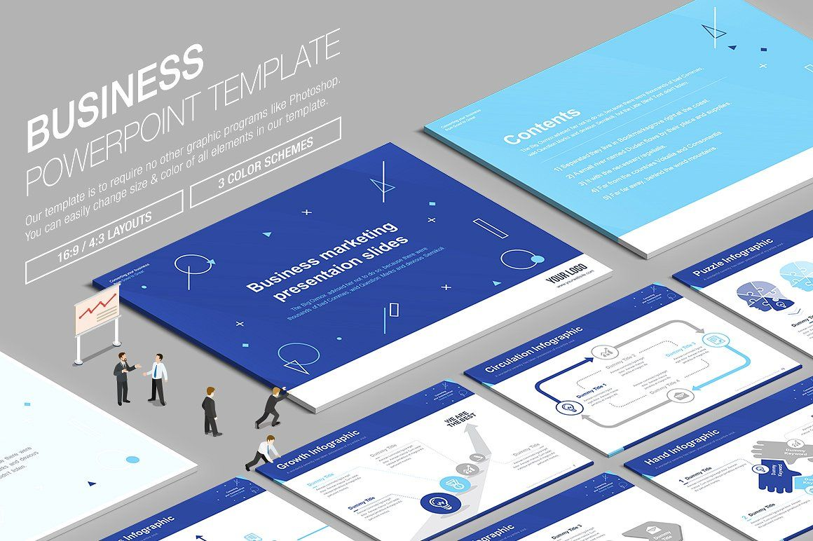 Ppt business powerpoint template by lunik20 on creativemarket business powerpoint template templates business powerpoint template is to require no other graphics programs like photoshopyou can by lunik studio toneelgroepblik Images