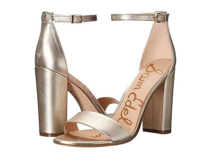 54dba960f725 Sam Edelman Yaro Ankle Strap Sandal Heel