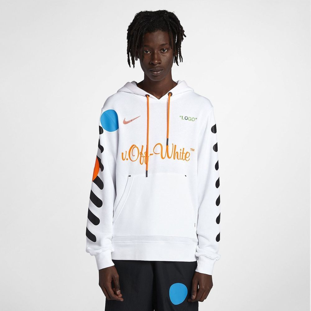 Nike x Off White Hoodie Jacket White