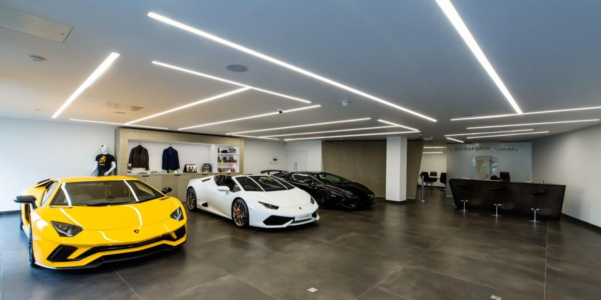 Lamborghini Showroom By Apollo Interiors Ltd Lamborghini