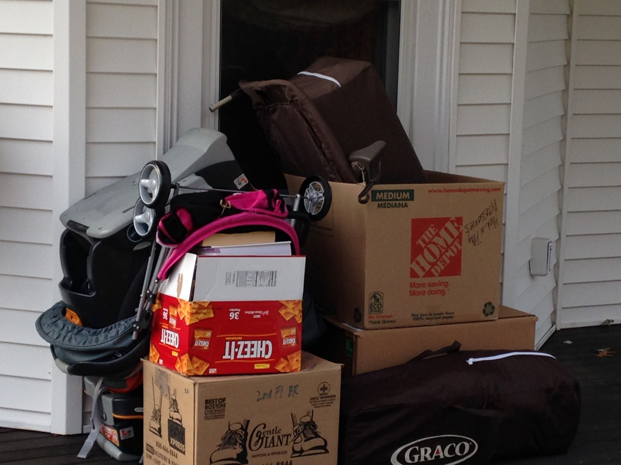 Donating to Cradles to Crayons Baby strollers, Graco