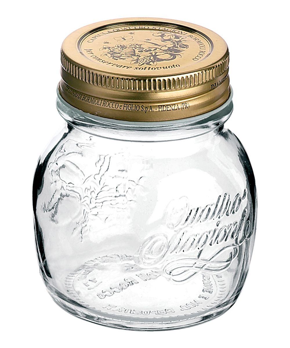 Quattro Stagioni 8 45 Oz Jar Set Of 12 Glass Storage Jars Canning Jars Mason Jars