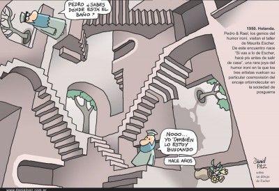 """Escher""por Daniel Paz"