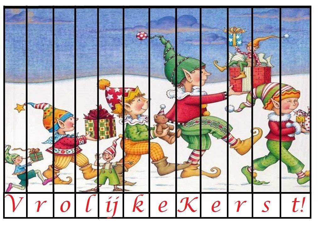 * Puzzel: Vrolijke kerst!