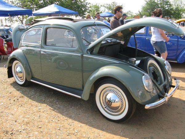 1950 Light Green Beetle Split Window Best Of Show Texas Vw Clic 2017