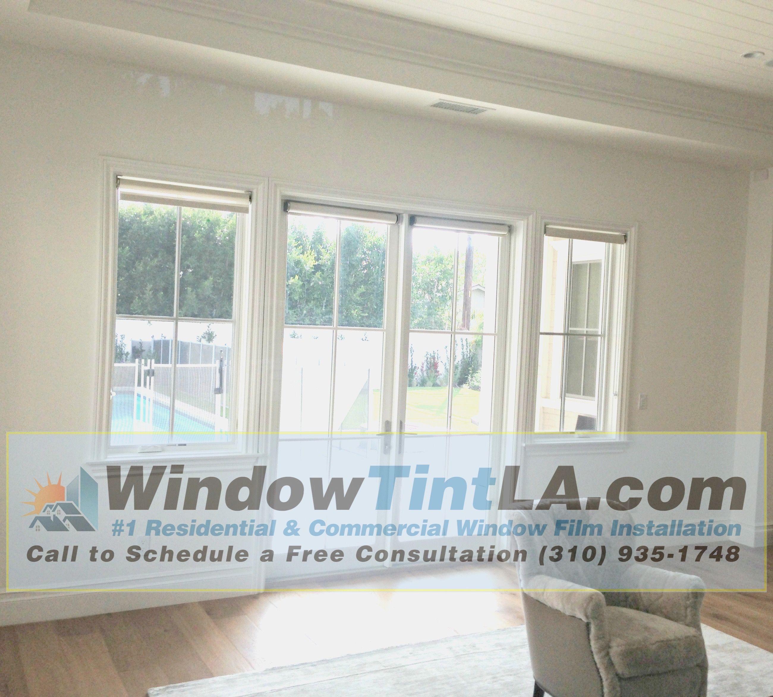 Security Film Installed In Beautiful Santa Monica Home Security Window Film Window Film Installation