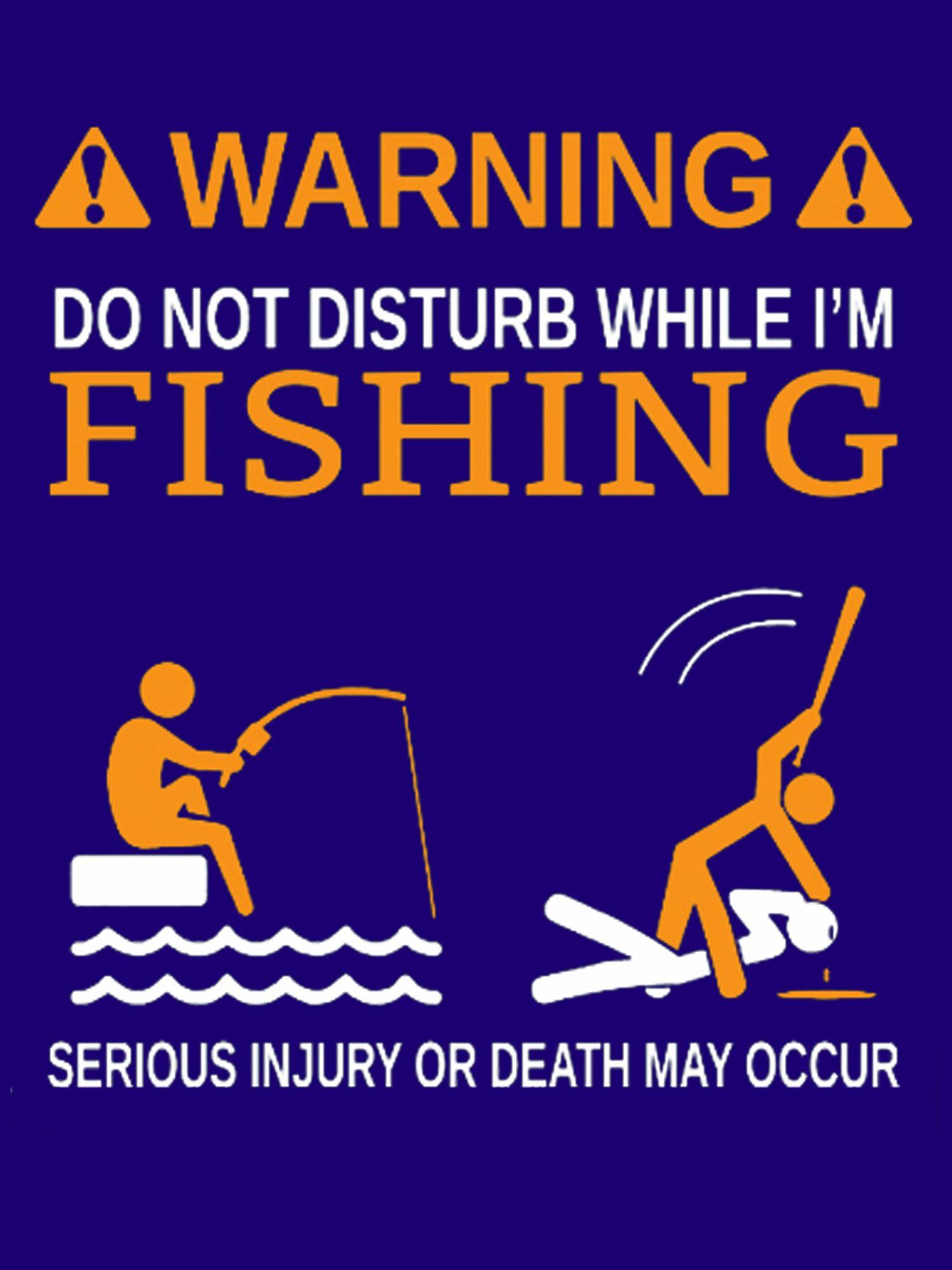 Do Not Disturb While Im Fishing Funny Fishing T Shirt Fishing
