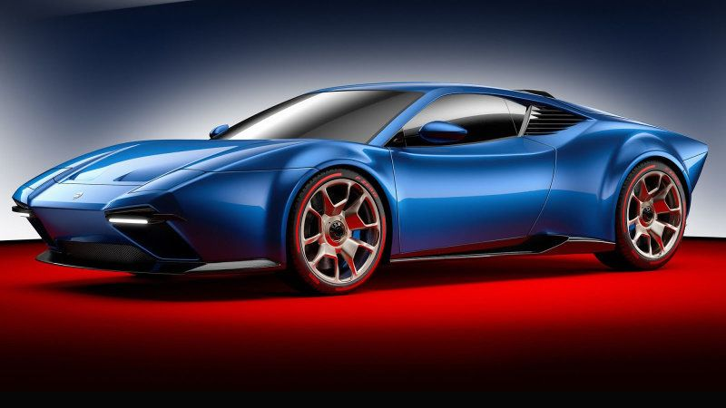 Ares Project Panther Is A Lamborghini Huracan In DeTomaso - Cool cars with low insurance