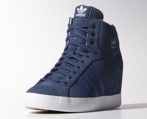 new product a3f8b 86099 zapatillas adidas mujer con taco