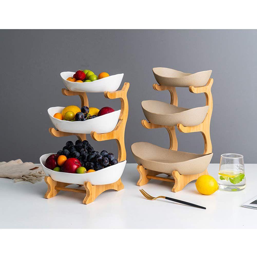 corbeille a fruits 3 etages fruit