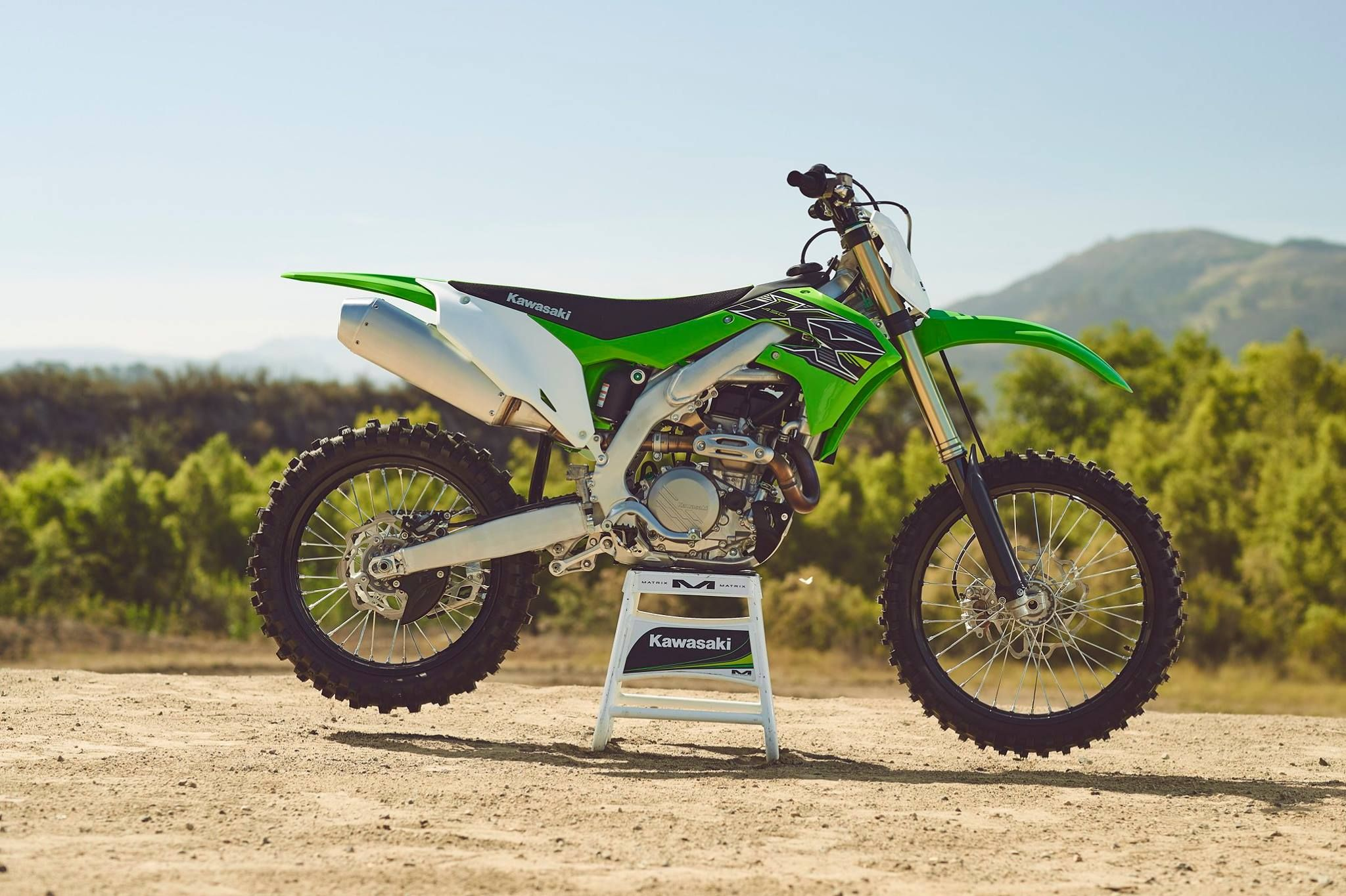 The all-new 2019 Kawasaki KX450 was just named the