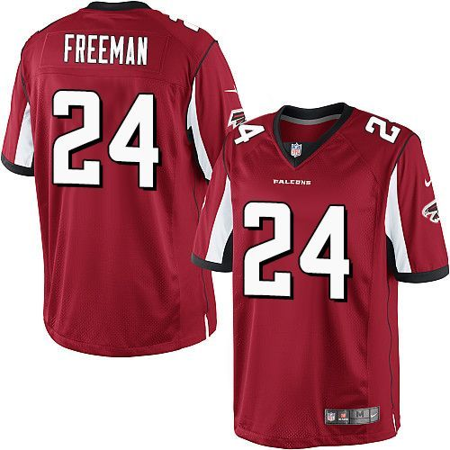 nike limited devonta freeman red mens jersey atlanta falcons 24 nfl home