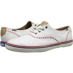 98040974d1084 Keds Champion Leather Pennant Women s Lace up casual Shoes
