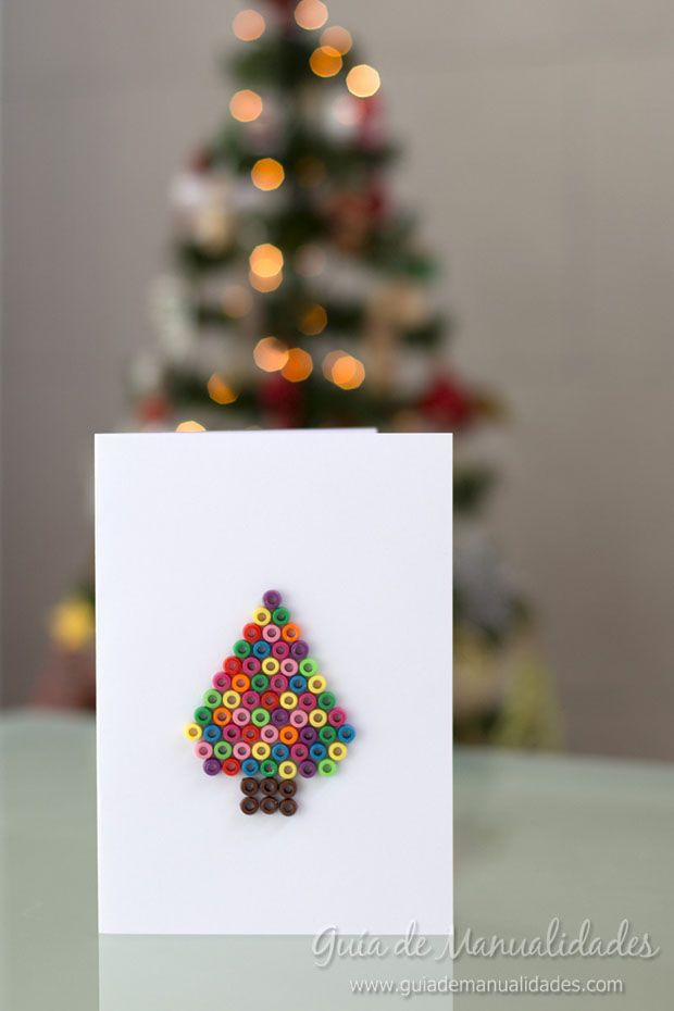Tarjetas navideñas creativas de última hora Navidad, Handmade - tarjetas creativas