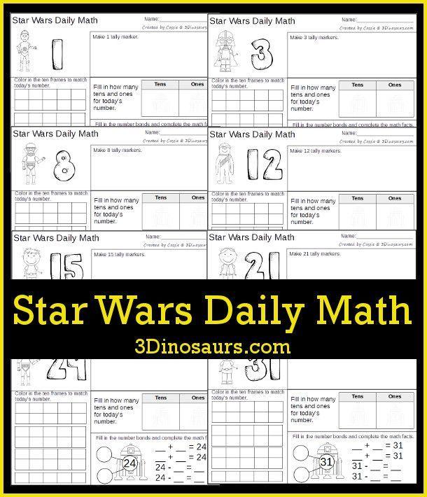 FREE Star Wars Math Pack