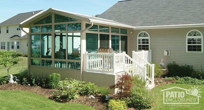 All Season Sunroom Addition Pictures Amp Ideas Patio Enclosures Sunroom Addition Porch Design