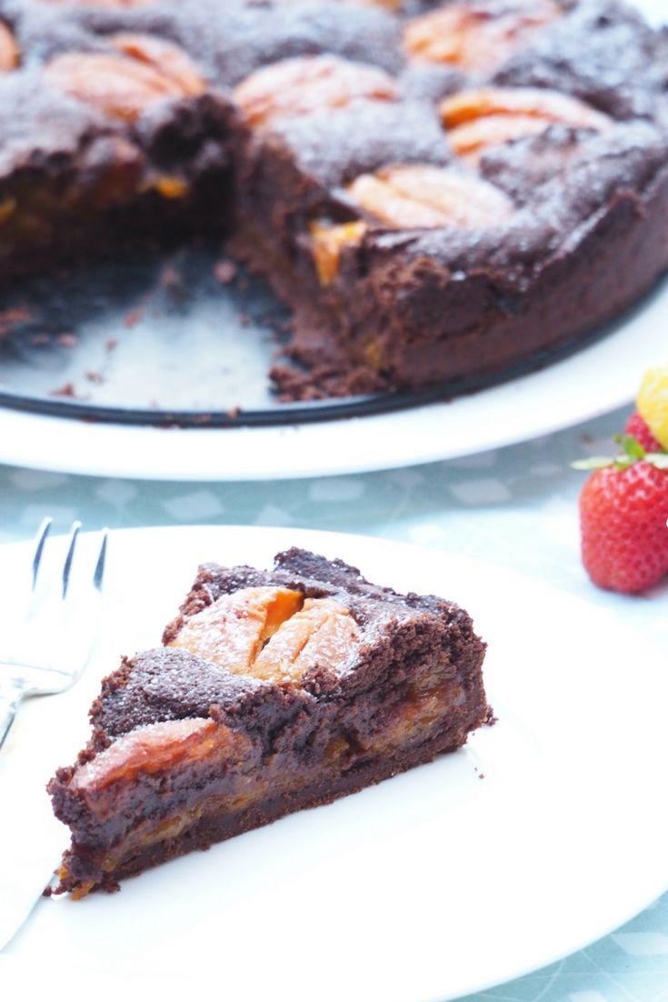 Der Schokoladigste Marillenkuchen Idorismag Vegane Rezepte