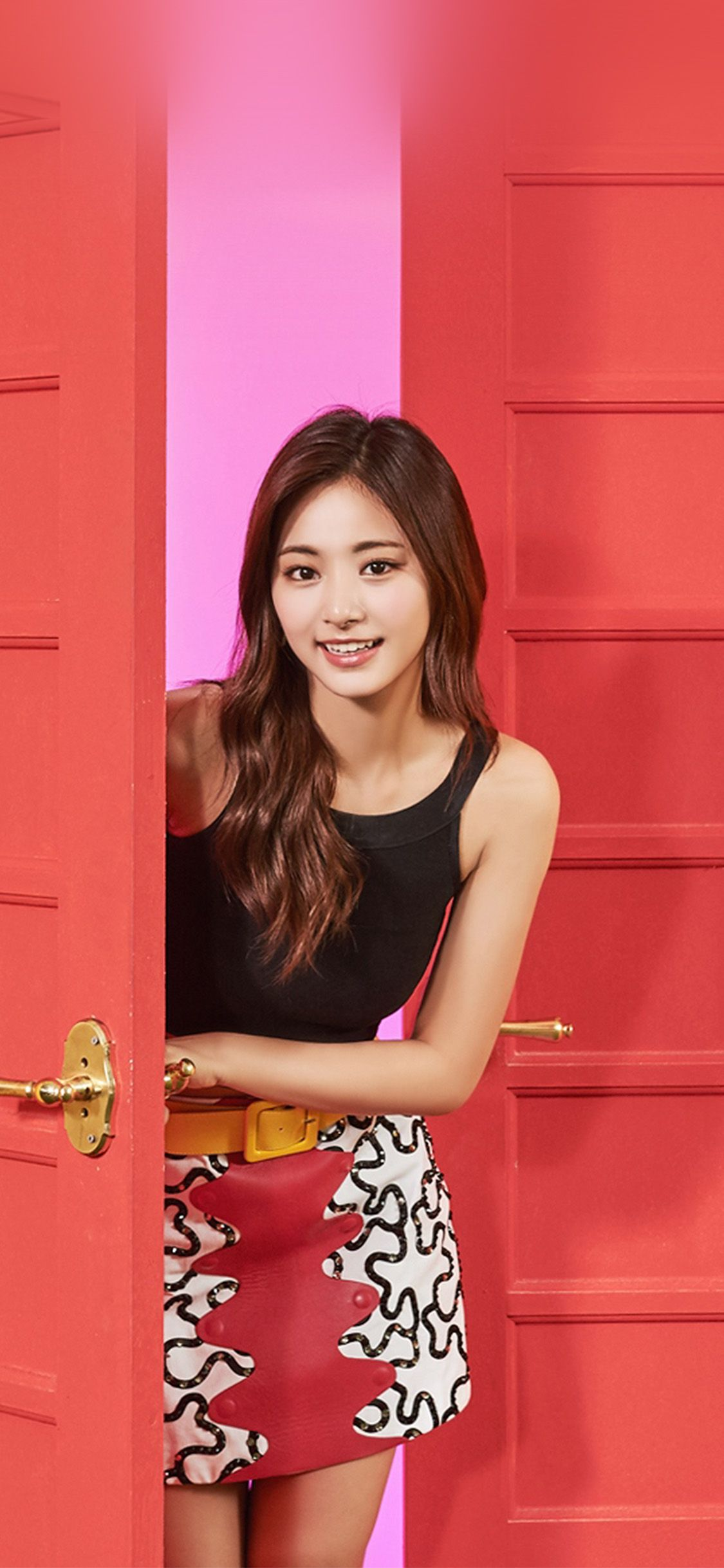 Hq27 Twice Girl Tzuyu Red Music Kpop Aisan Via Http