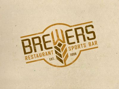 branding, beer, brewing, restaurant, identity, brown