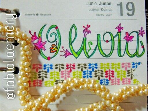 Olivia: a small tribrute to a great litlle girl. Brazil (Brasil), Tilifax. Filofax Lovers!