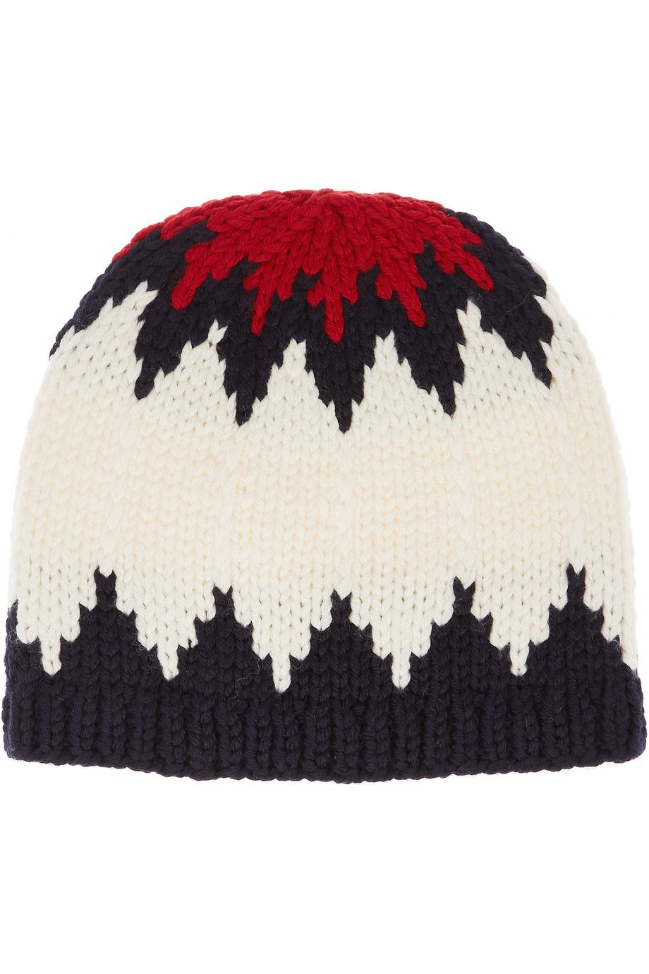 Shop on-sale Chloé Snow Capsule intarsia wool beanie. Browse other discount  designer Hats   more on The Most Fashionable Fashion Outlet f174e12d7efe