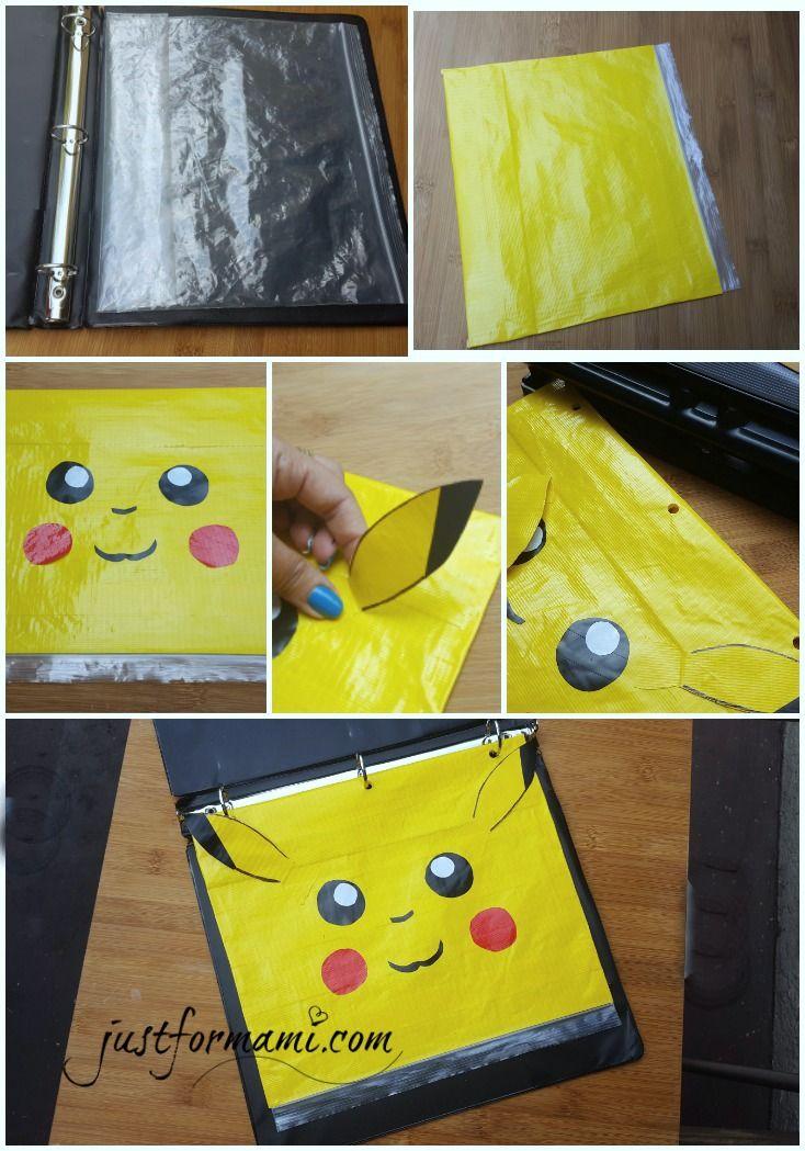 Como nos gusta tanto Pokemón Go hicimos esta bolsa para guardar útiles de Pikachú reciclando una bolsa cierra fácil, a esta le hicimos hoyitos usando el abre hoyos para colocarla en el cartapacio, es un proyecto de reciclaje o una manualidad sencilla para hacer con niños y celebrar el regreso a clases.