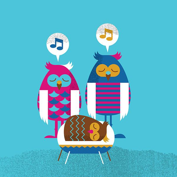 Owl Family on Behance