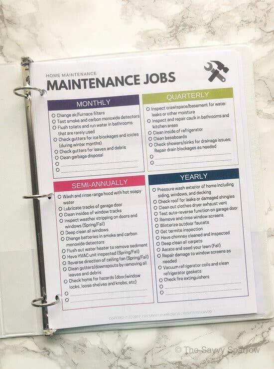 Photo of Der Home Maintenance Planner: Warum Sie einen benötigen und was Sie mit einbeziehen sollten