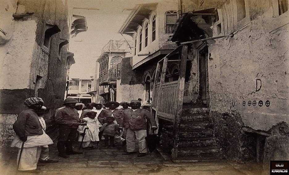 Mithadar in 1897 Karachi: 'Mithadar' literally means Sweet