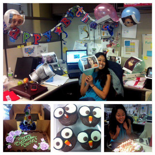 Our social media genius, Devin, on her birthday!